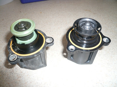 how to change diverter valve on 2012 vw gti