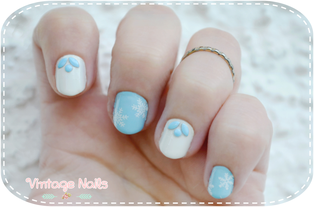 nail art, manicura, manicure, MoYou, China Glaze, Rimmel London, winter nail art