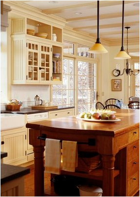 Elegant English Country Kitchen Design Ideas