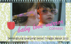 Baby Love Mirror Contest by Cik Luna