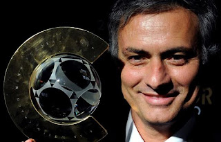 jose mourinho get price as best choach in 2010