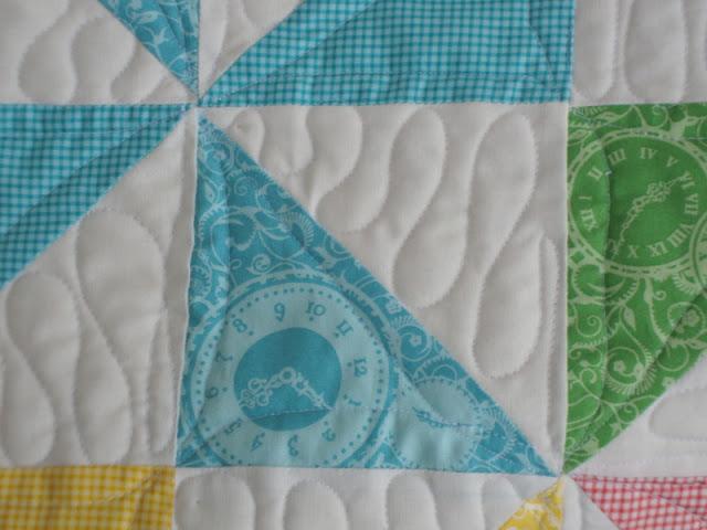 Hideaway by Moda, Quilting Pinwheels