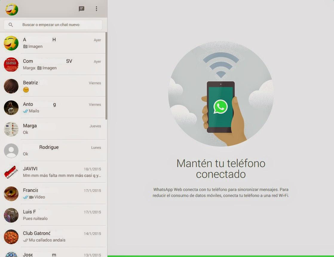 Whatsapp desde el nevegador | Juggernaut Blog Técnico