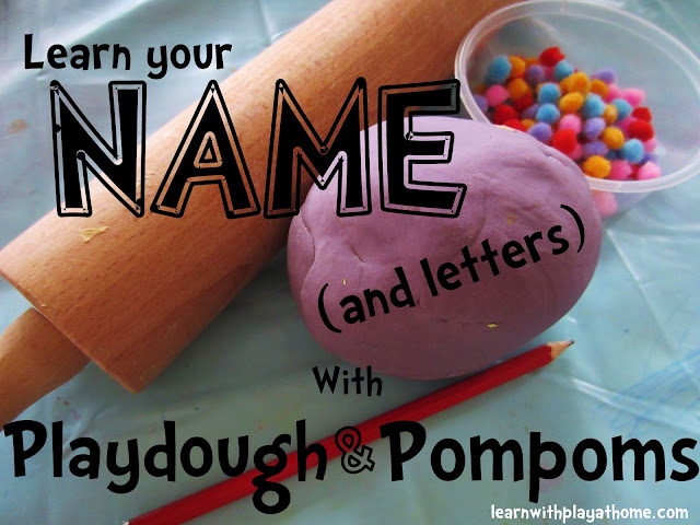 name recognition with playdough