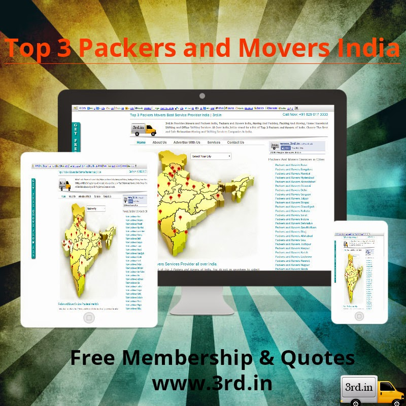 Why Choose Top 3 Packers Movers India at www.3rd.in?