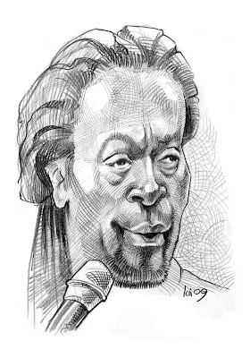 Bobby McFerrin caricature