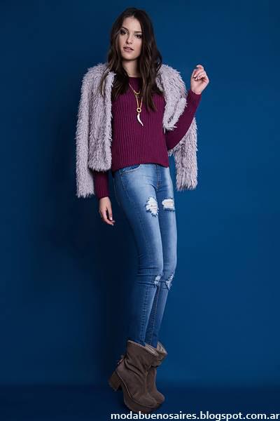 Moda mujer invierno 2015 Estilo Ambar.