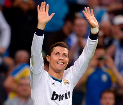Cristiano Ronaldo luchador