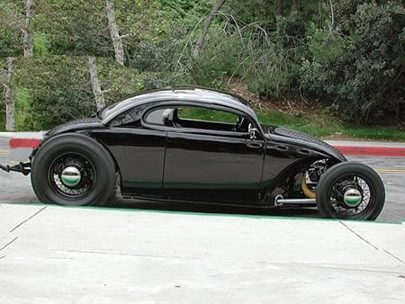 FUSCA PRETO - HOT ROD
