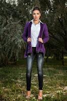 Jacheta Casual Violet