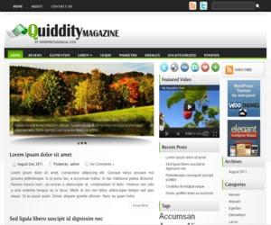 Quiddity WordPress Theme