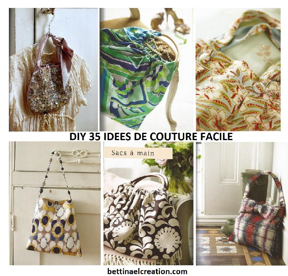 Comment realiser un sac a main en tissu mode2 - Diy couture facile ...