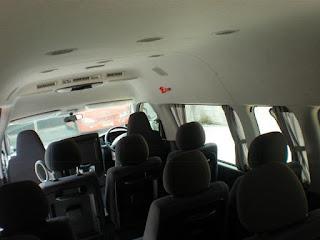 rental mobil pekanbaru interior