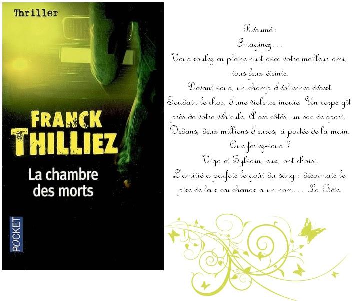 La chambre des morts de franck thilliez - La chambre des morts franck thilliez ...