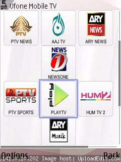 Ufone Free Streaming on Free interNet in Nokia Belle Symbian Asha