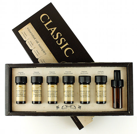 Classic Certified Organic Essential Oil Kit from Mountain Rose Herbs