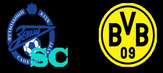 Prediksi Pertandingan Zenit vs Borussia Dortmund 26 Februari 2014