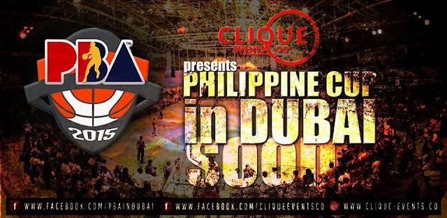 Tim Cone, Manny Pacquiao, Alaska headlines PBA Philippine Cup games in Dubai