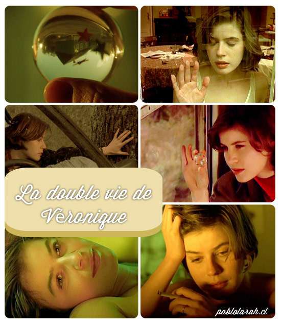 Inspiration, Krzysztof Kieslowski, La Double vie de Véronique, The Double Life of Véronique,Collage, Pablo Lara H