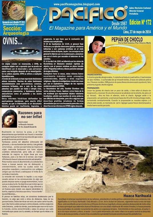 Revista Pacífico Nº 172 Arqueología
