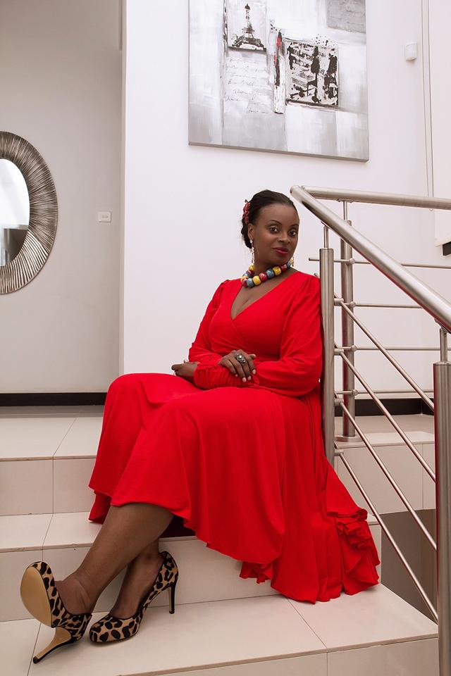 robe africain- khanga tanzanian designer Evelyn Rugemalira