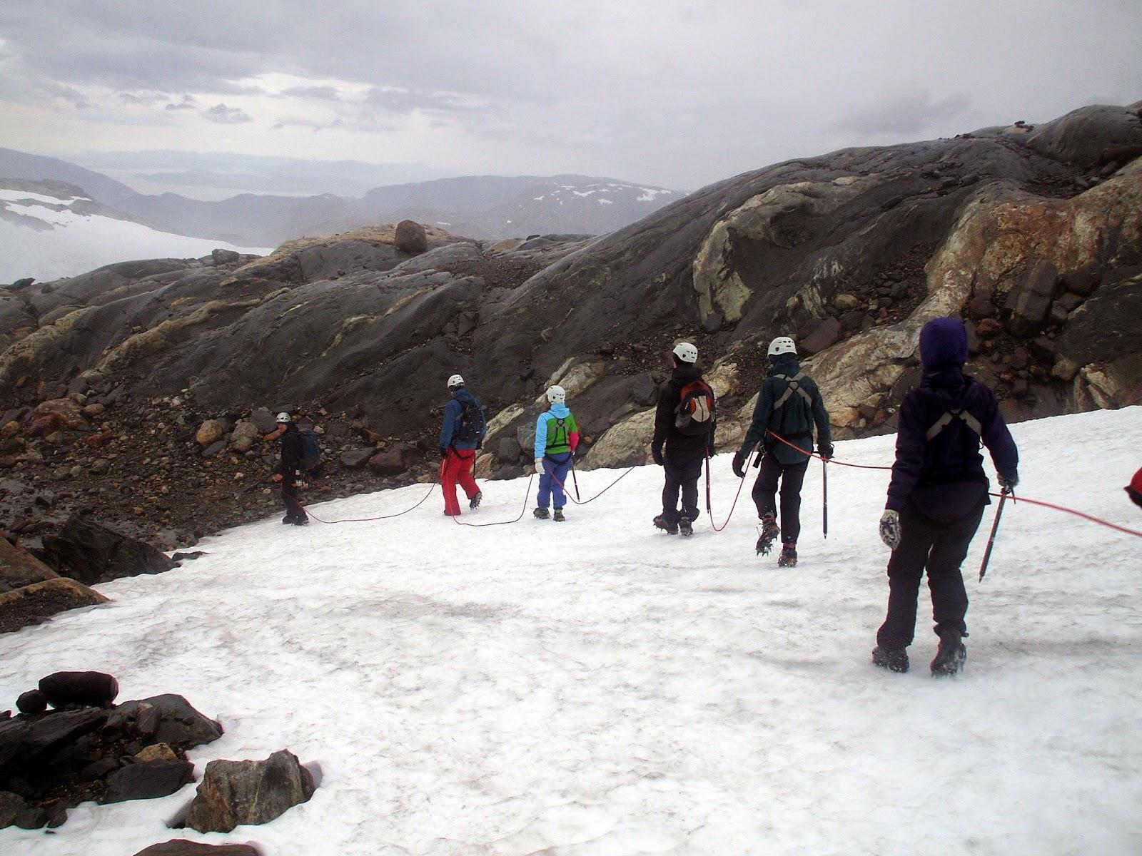 Glacier Walking in Norway