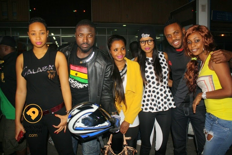 Big Brother The Chase Stars Reunite In Ghana For Selly's Birthday ...