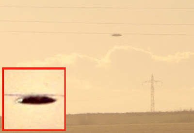 Jet Caught Chasing UFO Over Bulgaria, UFO Sightings