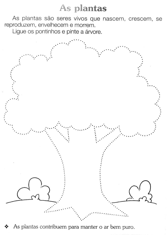 Suficiente Alegria de Aprender na Educação Infantil: ATIVIDADES SOBRE AS PLANTAS DJ04