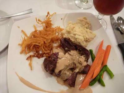 Bar 21's Pepper Steak - must order