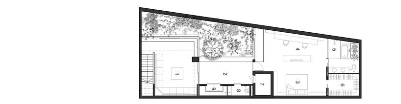Armadillo house formwerks architects singapore for Prezzo della casa a 2 piani