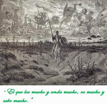 Las enseñanzas de Don Quijote.
