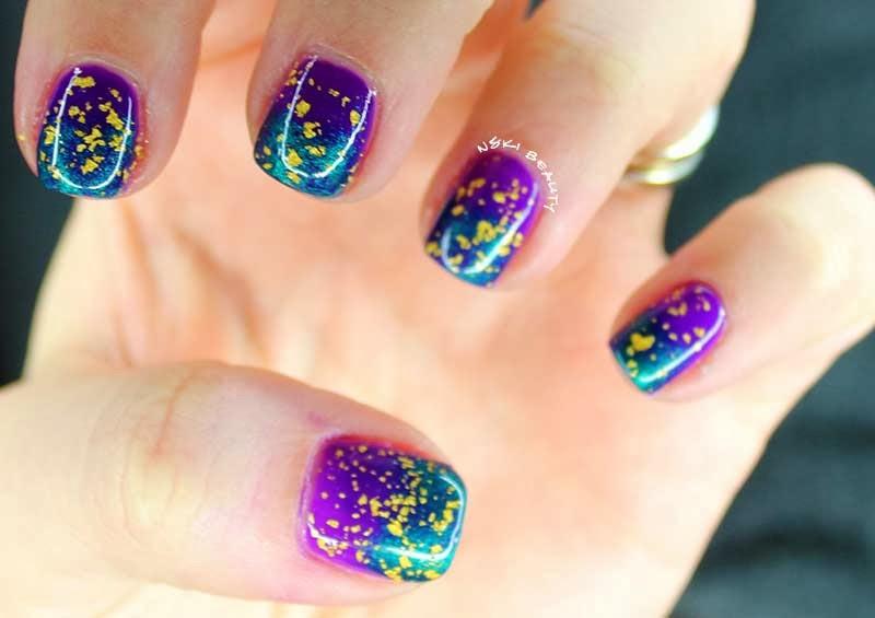 Mani Tuesday? :: Mardi Gras Nails ft: China Glaze, Zoya & OPI | Nski ...
