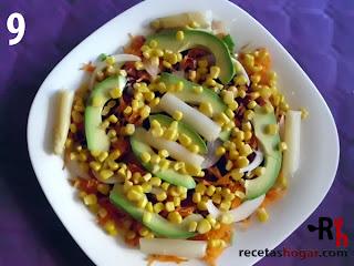 Recetas de cocina: Ensalada mediterránea - Paso 9