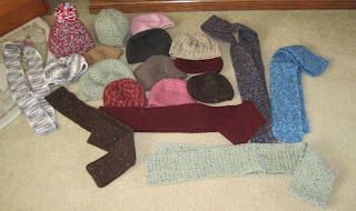 crochet items for homeless