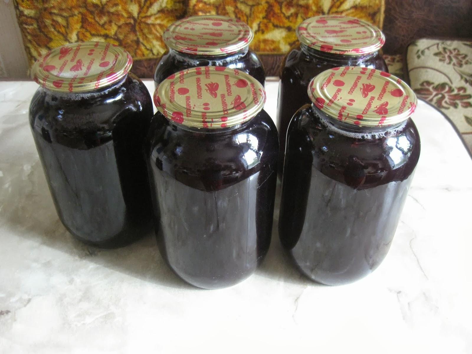 Заготовка виноградного сока на зиму в домашних