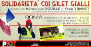 CON I GILET GIALLI roma 12 gennaio