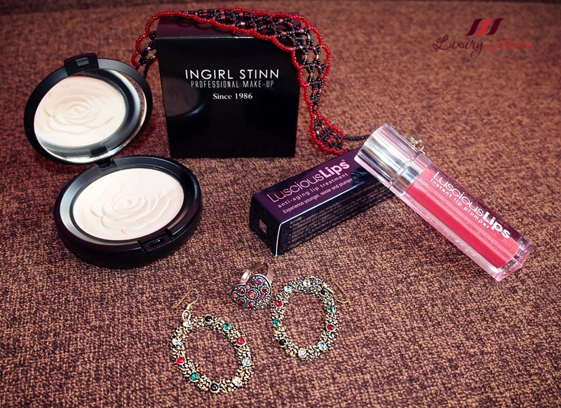 eha skincare ingirl stinn powders infracyte luscious lips