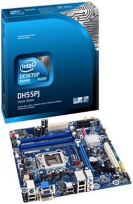 Intel DH55PJ motherboard images