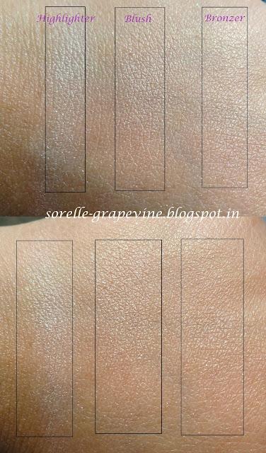 Revlon PhotoReady Sculpting Blush Palette Peach swatch