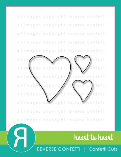 heart to heart confetti cuts