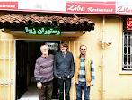 نایجل اسلیتر مجری برنامه آشپزی بی بی سی فارسی و گروه همراهان در لاهیجان
