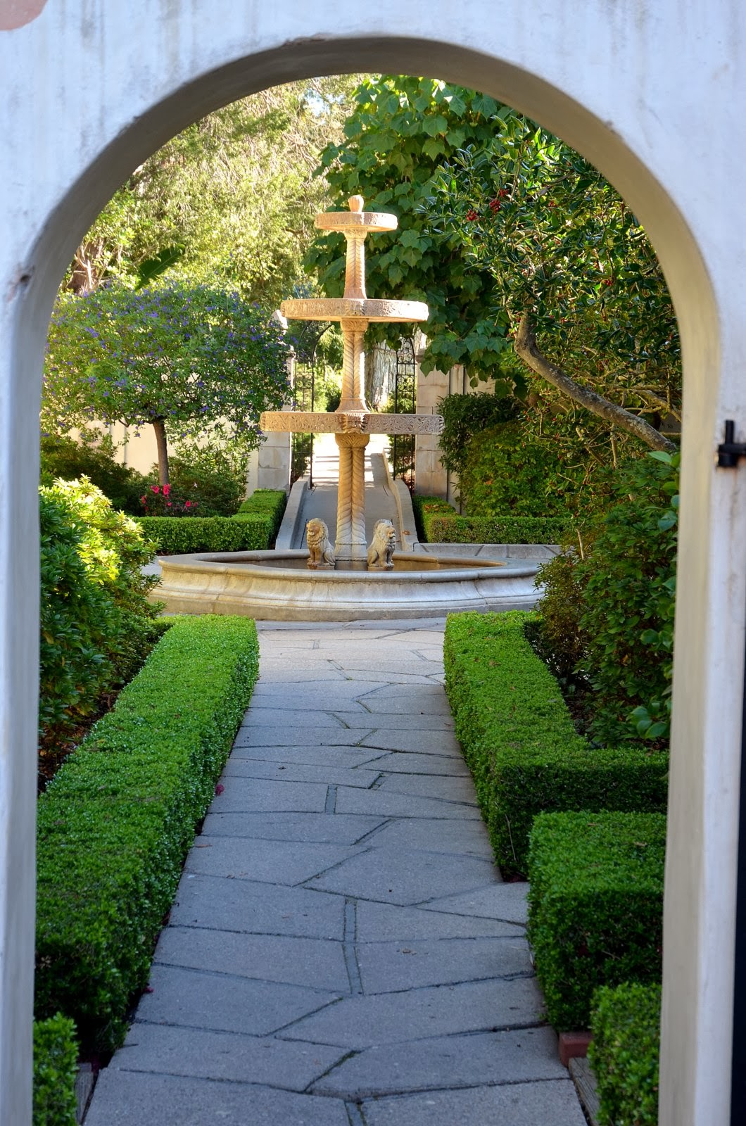 a visit to the past and through beautiful gardens ramblings