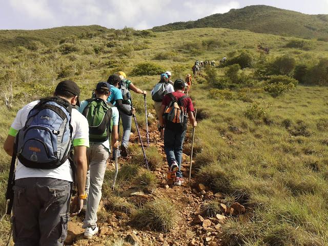 Vacaciones en Margarita, Montañas de San Juan