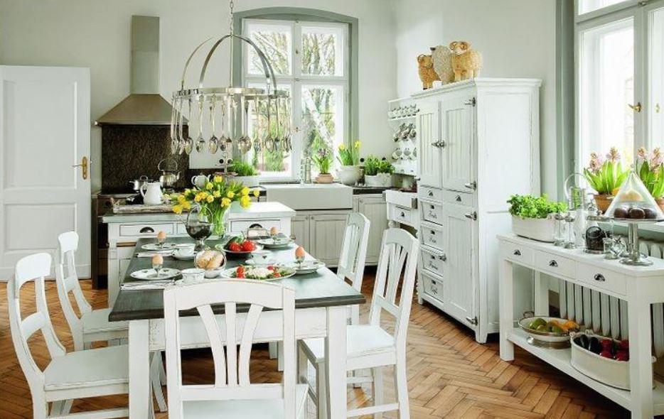 Blog wnętrzarski Mile Maison Blog o urządzaniu wnętrz i   -> Kuchnia Prowansalska Aranżacja