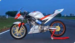 modifikasi motor yamaha yzf-r15 keren