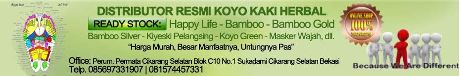 Grosir Koyo Kaki Foot Patch Happy Live-Bamboo