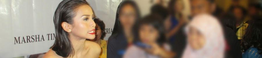 Aktris Acha Septriasa saat Gala Premiere film Nada Untuk Asa