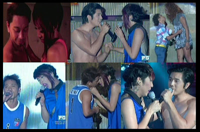 Vice Ganda and Jhong Hilario (Team CutiePie) performance on It's Showtime 3rd Anniversary (Oct 25)