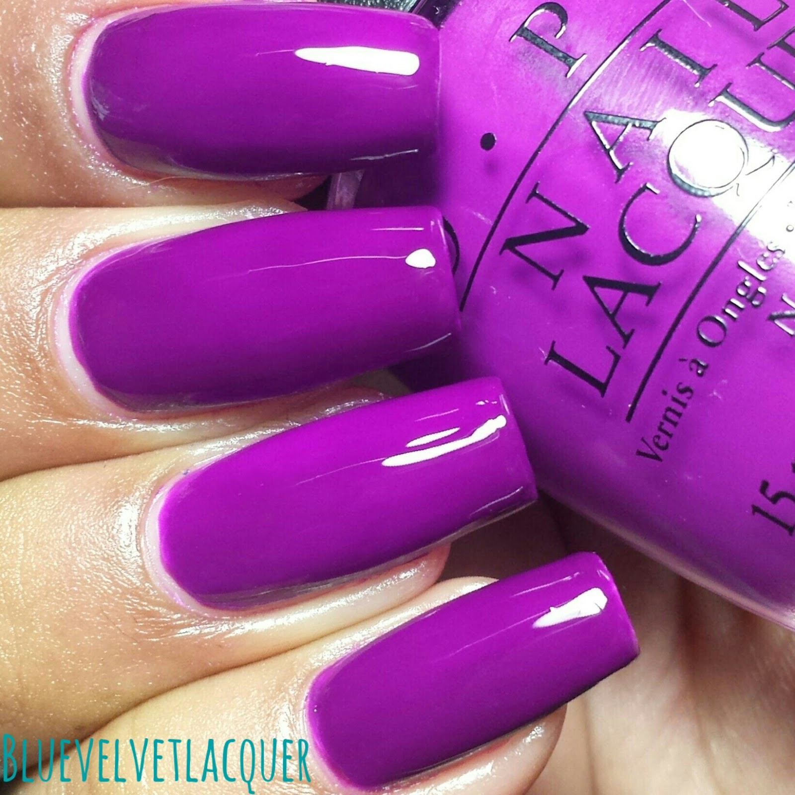 Blue Velvet Lacquer: OPI Neon Collection for Summer 2014: Swatches ...